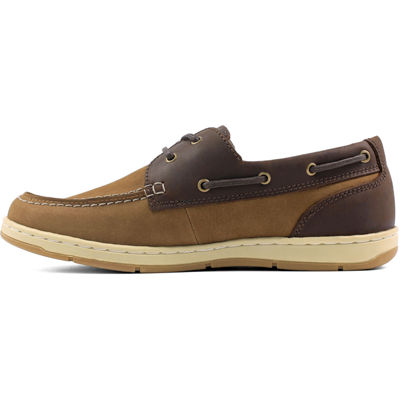 Nunn Bush Schooner Men's Moc Toe Two-eye Boat Shoe