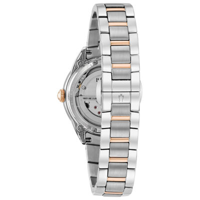 Bulova Womens Two Tone Bracelet Watch-98p170