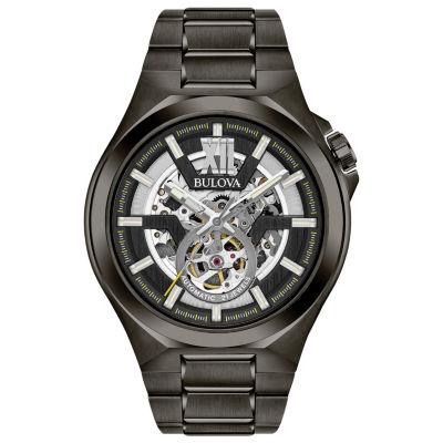 Bulova Mens Gray Bracelet Watch-98a179