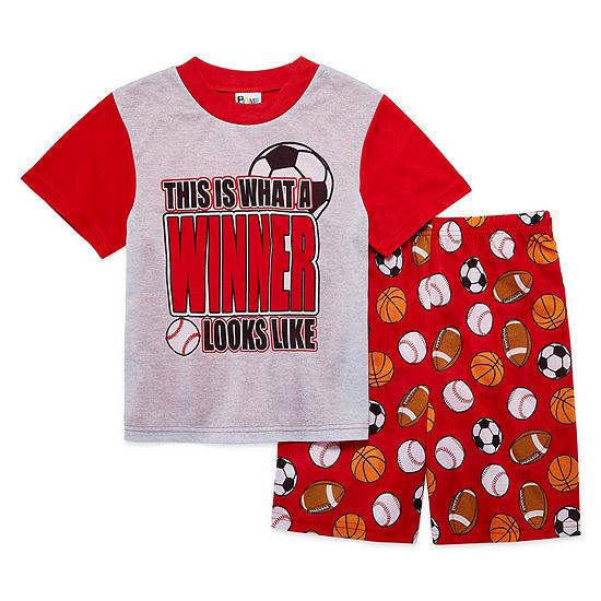 2-pc. Kids Sport Pajama Set Boys