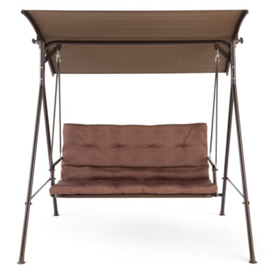 Lovely Outdoor Oasis™ Newberry Two Seat Canopy Swing