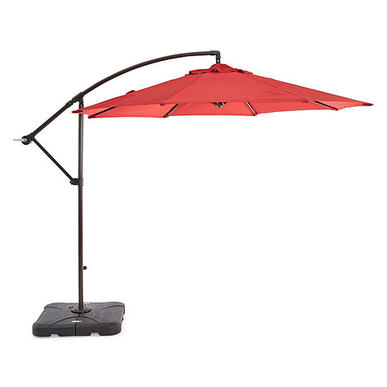 Outdoor Oasis 10 Ft Offset Cantilever Patio Umbrella