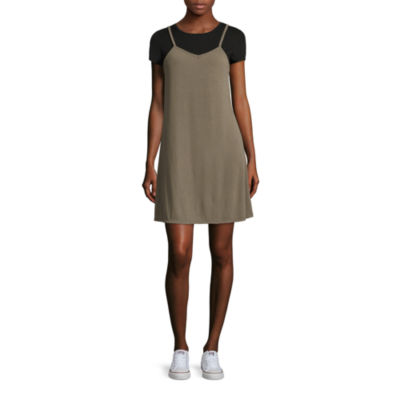 Arizona Tee + Rib Slip Dress- Juniors