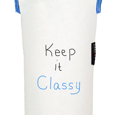Keep It Classy Reversible Wine Tote