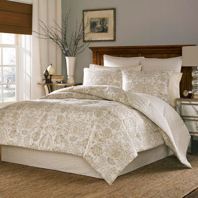 Stone Cottage Belvedere 3-pc. Damask + Scroll Reversible Duvet Cover Set