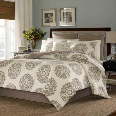 Stone Cottage Medallion 4-pc. Midweight Reversible Comforter Set