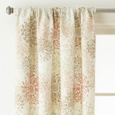 Home Expressions Kayden Rod-Pocket Curtain Panel