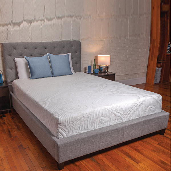 sealy 10 hybrid mattress in a box jcpenney. Black Bedroom Furniture Sets. Home Design Ideas