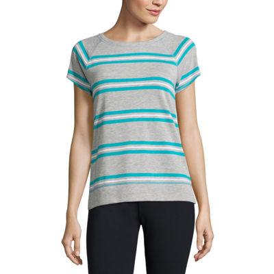 Liz Claiborne Short Sleeve Sweatshirt