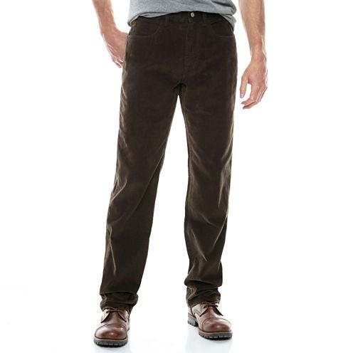 St. John's Bay® Straight Fit Corduroy Pants