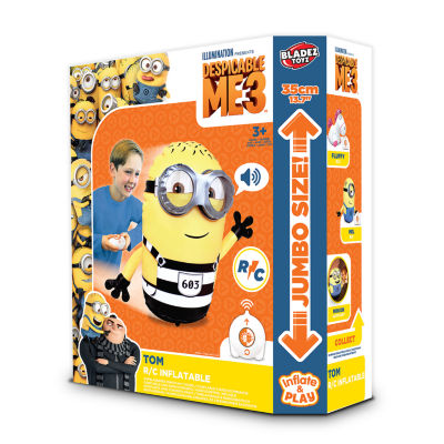 """""""Universal Minions Despicable Me 3:R/C Inflatable Mini Minion TomR/C Inflatable Mini Minion Tom"""""""
