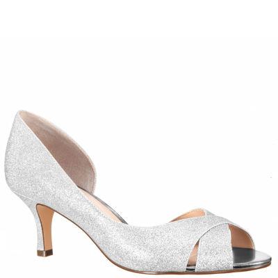 I. Miller Candra Womens Pumps Slip-on Peep Toe Stiletto Heel