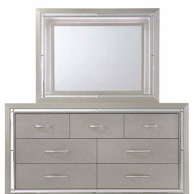 Picket House Furnishings Glamour Dresser & Mirror Set