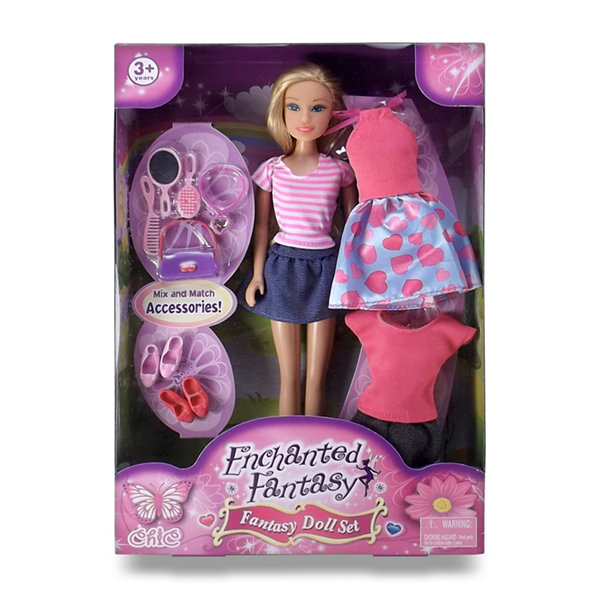 Enchanted Fantasy: Princess Fashion Doll Set