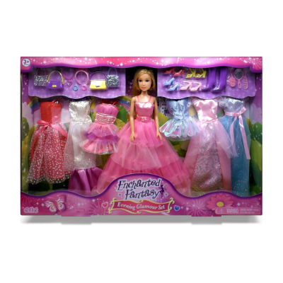Enchanted Fantasy: Evening Glamour Doll Set