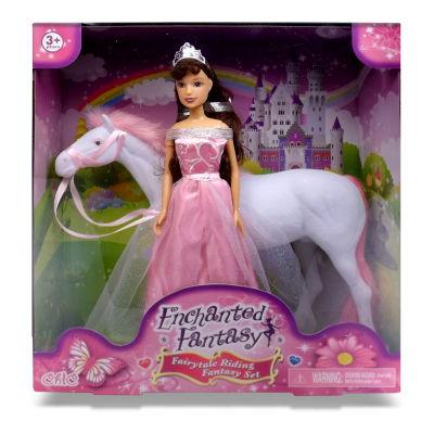 Enchanted Fantasy: Fairytale Princess Fantasy Riding Doll Set