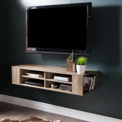 """City Life 48"""" Wall Mounted Media Console"""