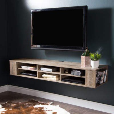 "City Life 66"" Wall Mounted Media Console"