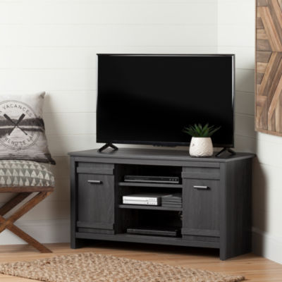 Exhibit Corner TV Stand, for TVs up to 42''