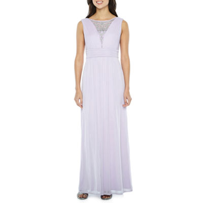 Melrose Sleeveless Evening Gown