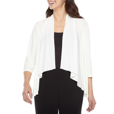 R & M Richards Womens 3/4 Sleeve Shrug