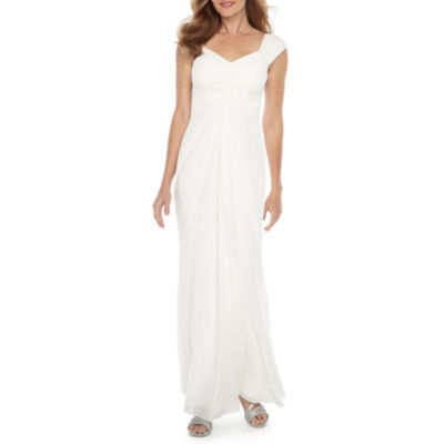 One By Eight Sleeveless Wedding Gown