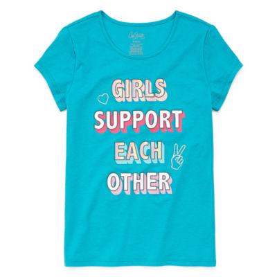 City Streets Anti Bully Short Sleeve Tee - Girls 4 - 16 & Plus