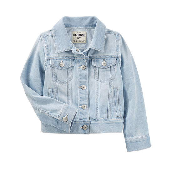 eacf9d12b275 Oshkosh Girls Denim Jacket-Preschool - JCPenney