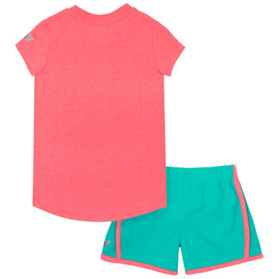 New Balance 2-pack Short Set Baby Girls