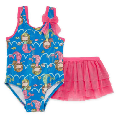 Girls One Piece+Cover-Ups-Toddler
