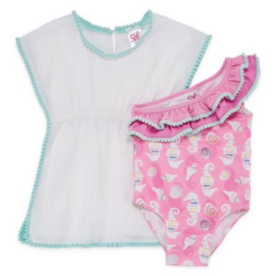 Solo Girls One Piece+Cover-Ups-Toddler
