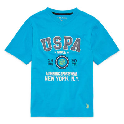 U.S. Polo Assn. Graphic T-Shirt Boys
