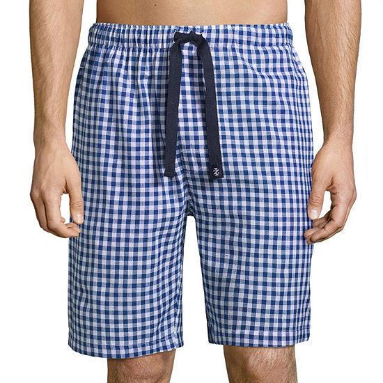 IZOD Poplin Pajama Shorts-Big