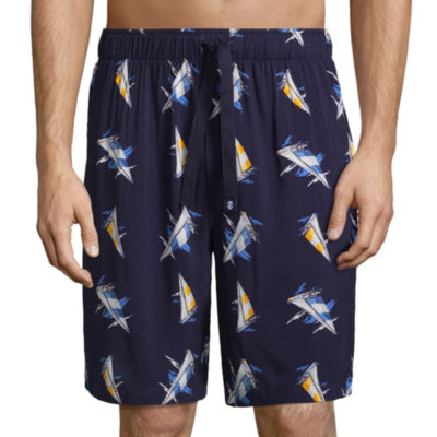IZOD Woven Pajama Shorts-Big