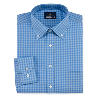 Stafford Southeast Strategy Long Sleeve Broadcloth Dress Shirt