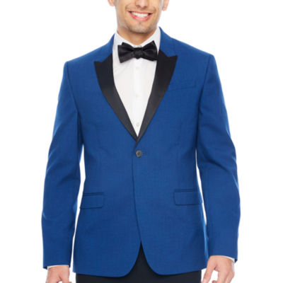 JF J. Ferrar Super Slim Fit Tuxedo Jacket