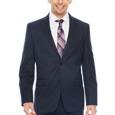 Collection by Michael Strahan  Plaid Slim Fit Stretch Suit Jacket-Slim