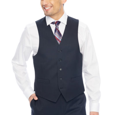 Collection by Michael Strahan  Plaid Classic Fit Stretch Suit Vest