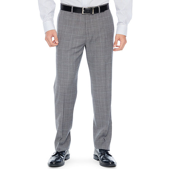 Collection by Michael Strahan  Checked Classic Fit Suit Pants