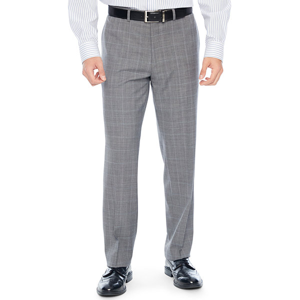 Collection by Michael Strahan  Mens Checked Classic Fit Suit Pants