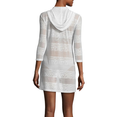 Porto Cruz Jacquard Swimsuit Cover-Up Dress