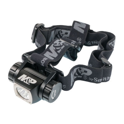Smith & Wesson Accessories Delta Force FlashlightHl-10 Headlamp- LED With 3 Aaa Batteries AluminumBlack