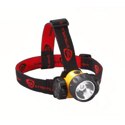 Streamlight 3AA Haz-Lo With Batteries Rubber & Elastic Straps Headlamp