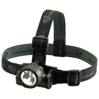 Streamlight Trident Headlight 1 Green LED & 2 White LEDs (Batteries Included)