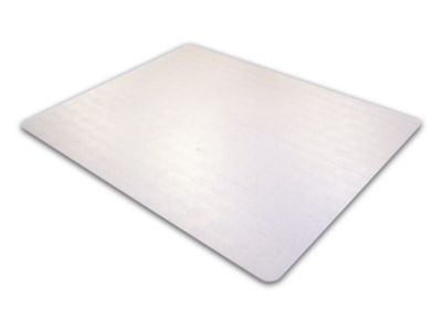 Cleartex Advantagemat Chair Mat for Low Pile Carpets (1/4IN or less) Phthalate-Free PVC Rectangular