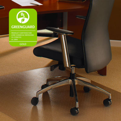 Cleartex XXL General Office Mat Rectangular StrongPolycarbonate For Carpets