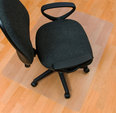 EcoTex Evolutionmat Anti-Slip Recyclable Chair MatFor Hard Floors Rectangular