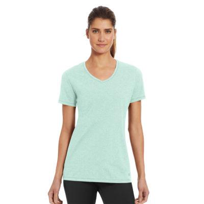 Champion Sleeveless V Neck T-Shirt-Womens