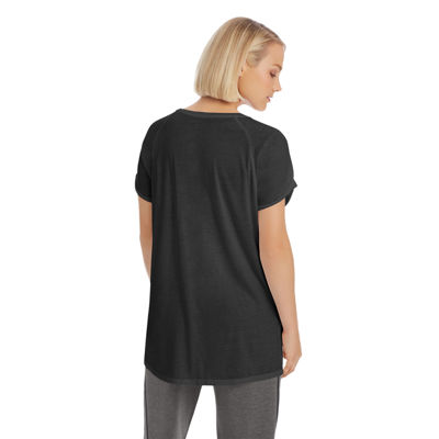 Champion Short Sleeve Scoop Neck T-Shirt-Womens