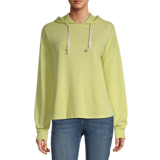 a.n.a Tall Womens Hooded Neck Long Sleeve Sweatshirt